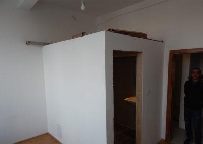 Postavení koupelny v novém bytě v Praze
