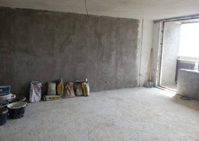 Rekonstrukce části bytu v panelovém domě v Praze