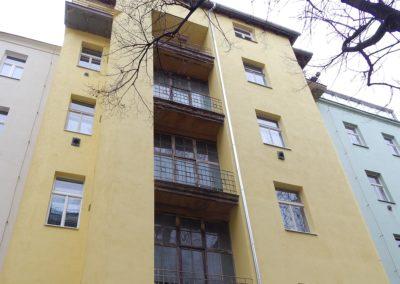 Oprava fasády v Praze