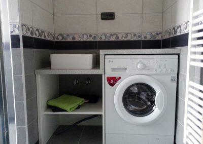 Kompletní rekonstrukce bytu v Praze - koupelna