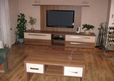 Výroba a montáž vestavného nábytku