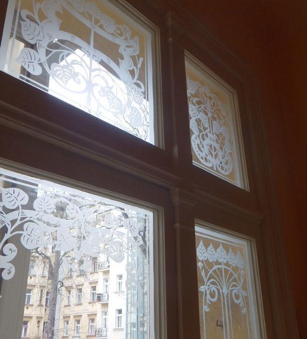 Rekonstrukce společných prostor bytového domu v Praze
