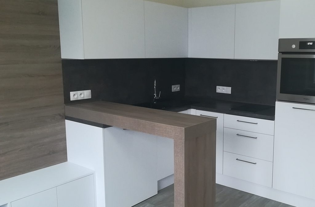 Rekonstrukce malého bytu v panelovém domě