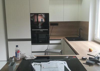 Realizace nové kuchyňské linky